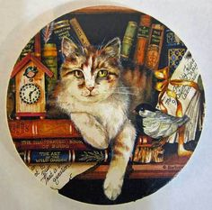 Pretty Cat Coaster for Car Cat Coasters, Stone Coasters, Car Upholstery, Pretty Cats, Cat Design, Animals, Beautiful Cats, Animales, Animaux
