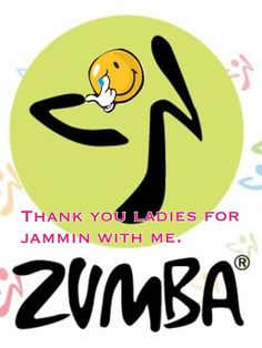 thanxx zumba ladies