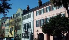 Charleston Rainbow Row