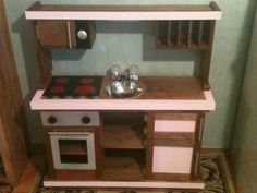 Builders Showcase: Gourmet Play Kitchen - The Design Confidential Diy Home Furniture, Diy Home Decor, Woodworking Projects Plans, Teds Woodworking, Diy Wood Projects, Home Projects, Kids Play Kitchen, Play Kitchens, Childrens Kitchens
