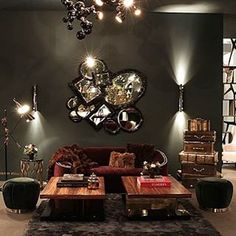 One of our favourite displays at lifestyle and design show @MaisonetObjet by @CovetHouse_. #maisonetobjet2017