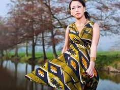 Feng Ho's Print-Happy Eco-Fashion Collection Boosts Livelihoods in Malawi