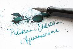 Goulet Pens Blog: Pelikan Edelstein Aquamarine: Ink Review