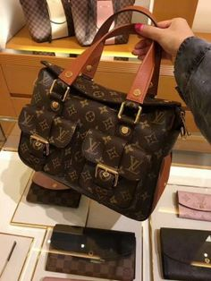Authentic Louis Vuitton Monogram Manhattan Bag M43481 #fashionlouis #vuitton #manhattan #