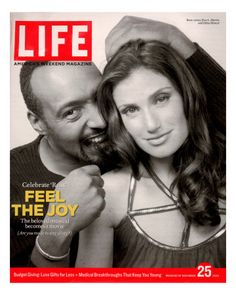 The cover of Life magazine features a photograph of American actors Jesse L. Martin and Idina Menzel, accompanied by the headline 'Feel the Joy,' November This is one of three cover issued. Get premium, high resolution news photos at Getty Images Jesse L Martin, Rent Musical, Musical Theatre, Lisa Scott, Life Cover, Idina Menzel, O Donnell, Actor Photo, Life Magazine