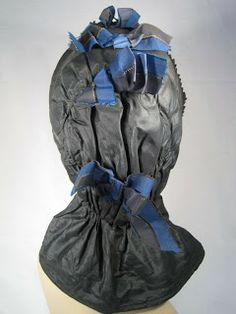1840's Quilted Hood/Bonnet
