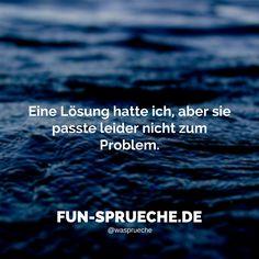 #lustig #sprüche #lösung #problem