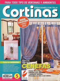 Revistas de manualidades Gratis: Revista Cortinas