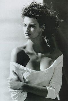 Linda Evangelista. Model.