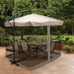 Uenjoy 9X9' Hanging Offset Umbrella Outdoor Sun Shade wit... https://www.amazon.com/dp/B01KFCINB0/ref=cm_sw_r_pi_dp_x_-xA0xbMQ2H40X