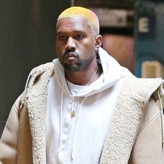 Kanye West's Hair is Now the Color of Rainbow Sherbet | GQ