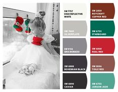 ColorSnap by Sherwin-Williams – ColorSnap by Reyhan S. Roycroft, Sherwin William Paint, Copper Red, Vintage Holiday, House Colors, Paint Colors, Jade, Bathrooms, Palette