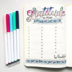 15 Colorful Bullet Journal Spreads That Will Have You Swooning