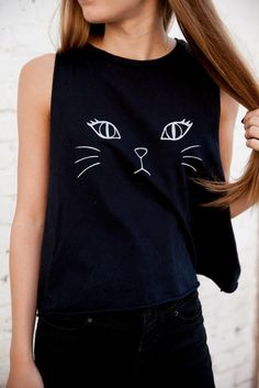 Brandy ♥ Melville | Kate Kitty Tank - Graphics