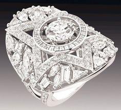 Anello Comete in diamanti