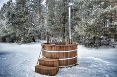 Tinozza da bagno (hot tub) in thermo legno (1)