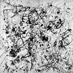 "Jackson Pollock, ""Number 20, 1950"" 1950"