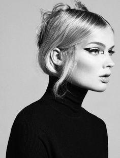le chignon ⚪ coiffure frisur haircut