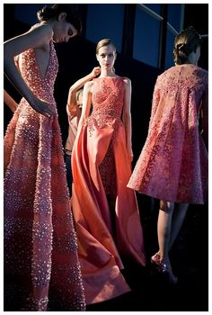 ELIE SAAB Backstage - Haute Couture Fall Winter 2014-2015