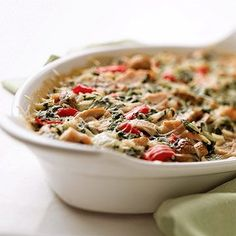 Turkey-Vegetable Bake, Turkey and Veggie Bake, BH&G, diabetic friendly, mane ahead freezer meal