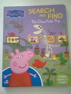 NEW Peppa Pig Book The Class Field Trip Hidden Objects Book