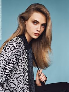 Cara Delevingne Vogue UK 2014