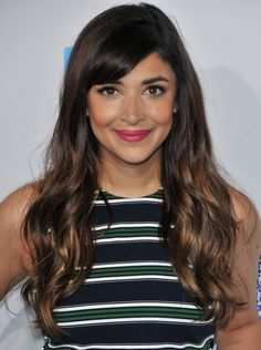 Hannah Simone at WeDay California in 2016.