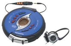 Panasonic SHOCKWAVE Portable CD Player SL-SW945 w/ D.Sound (Navy Blue and Black) by Panasonic. $199.99. Now you've got a CD player you can take on the road or to the gym--and one that happens to look great, too. Panasonic's ultra-tough SL-SW945 Shockwave portable CD player sports a heat-resistant, polycarbonate body for outdoor use. Further, it's equipped with a one-touch lock-and-release system designed to keep the player's top cover securely attached regardless of you...