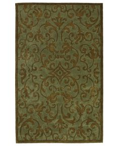 MANUFACTURER'S CLOSEOUT! Sphinx Rugs, Utopia 113 Light Blue/Brown - Shop All Rugs - Rugs - Macy's