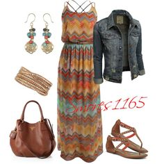 """Maxi Dress"" by smores1165 on Polyvore"