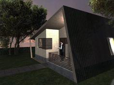 Casa Ecologica MICRO STANDARD - Construcții de case din lemn și case imprimate 3D Solar, Outdoor Decor, Living, Home Decor, Houses, Decoration Home, Room Decor, Home Interior Design, Home Decoration