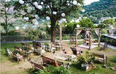 Casamento ao ar livre: Karine & Wagner | http://www.blogdocasamento.com.br