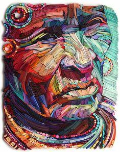 Paper art by Julia Brodsky / Новые работы гения квиллинга Юлии Бродской: потрясающие и необычные изделия из обычной бумаги - Ярмарка Мастеров - ручная работа, handmade