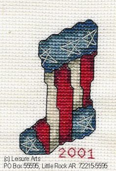 LA's Patriotic Stocking