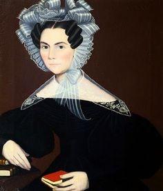 Ammi Phillips (American artist, 1788-1865) Portrait of a Woman