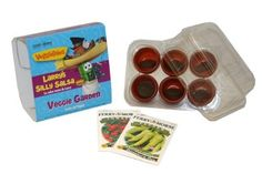 Veggie Tales 8993 Grow Your Own Veggie Garden Kit by Veggie Tales. $3.99. Indoor Gardening. Kids Gardening Gift. Veggie Tales. Grow Your Own Veggie Garden. 6 cell indoor mini greenhouse garden with Plants & seed. Save 60%!