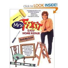 Mrs. Fixit Easy Home Repair by Terri McGraw