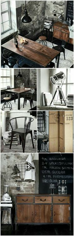 Industrial interior style styling ideas home inspiration