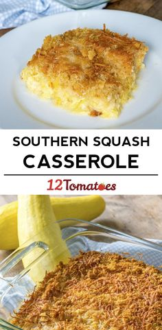 Southern Squash Casserole Our rich and creamy casserole is comfort food at it's finest. Pot Luck, Side Dish Recipes, Vegetable Recipes, Casserole Dishes, Casserole Recipes, Southern Squash Casserole, Yellow Squash Casserole, Summer Squash Casserole, Butter Crackers