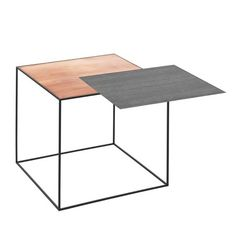 Kies je eigen tafelblad bij de Twin bijzettafel - Roomed | roomed.nl