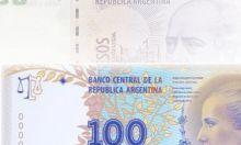 El gobierno argentino puso en circulación este viernes los primeros billetes con la cara de Eva Duarte de Perón.