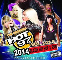 "Hot 97 Vol.103.5 ""Hail The Queen"" Blazin' Hip Hop & R&B - Mixtape CD Compilation http://stores.ebay.com/DigitalTunes"