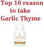 Through its support of the immune system garlic has been shown to neutralize free radicals in the bloodstream, which if left unchecked can damage healthy cells. The International Food and Information Council (IFIC) cites many examples where garlic effectively offers protection against these free radicals! Add Forever Garlic Thyme to your diet and enjoy its numerous health benefits.