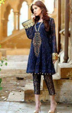Pakistani Party Wear Dresses at 786shop.com.