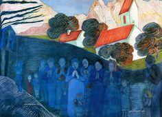 Mujeres pintoras: La expresionista Marianne von Werefkin. (Trianarts)