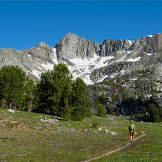 Beehive Basin Trail (Spanish Peaks in the Lee Metcalf Wilderness Area) in Big Sky, Montana http://www.womenshealthmag.com/fitness/great-hikes/beehive-basin-trail-spanish-peaks-in-the-lee-metcalf-wilderness-area-in-big-sky-montana