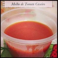Molho de Tomate Caseiro ~ Projeto Paulinha Fit