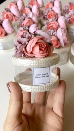 Wedding Favors by WhiteRoomHandmade Wedding Favours Luxury, Wedding Gift Boxes, Wedding Gifts For Guests, Wedding Cards, Sweet 16 Decorations, Diy Wedding Decorations, Wedding Giveaways, Diy Gift Box, Mom Birthday Gift