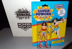 "DC COMICS 30TH SUPER POWERS COLLECTION WONDER WOMAN 6"" FIGURE 2014 MATTEL MOC #DCComics"