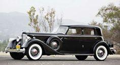 1934 Packard Twelve 1108 Deitrich Sport Sedan